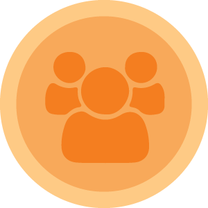 Community-based programs Icon