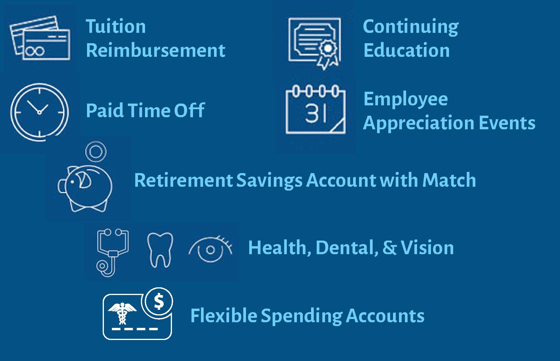Benefits Block BCC Careers