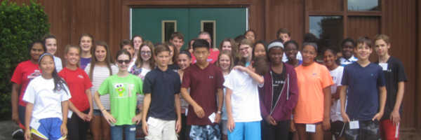 glen-mar-UMC-confirmation-class-outside-bcc-chapel